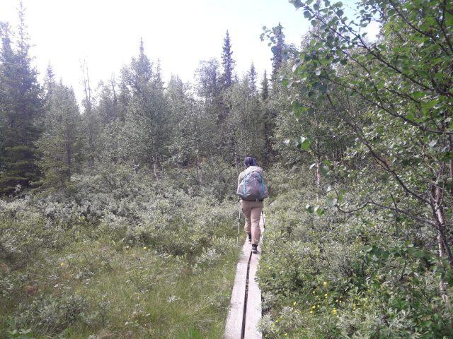 Saltoluokta (Kebnats) – Kvikkjokk   Schweden